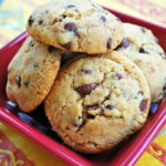 Awesome gluten-free chocolate chip cookies made with gluten-free baking mix