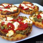 Mini Goat Cheese Pizzas