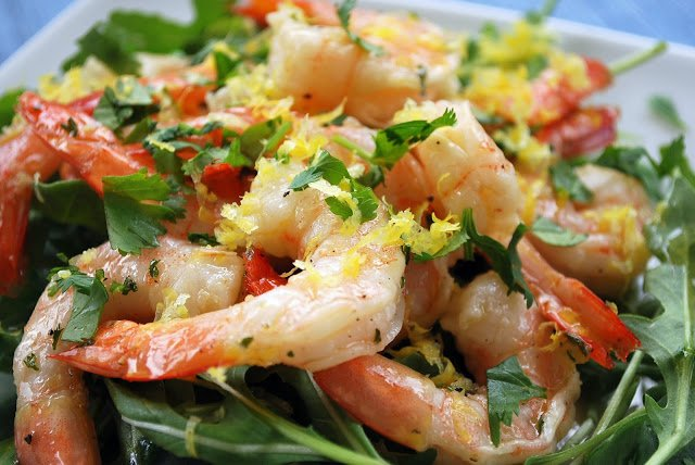 Easy Chilled Marinated Shrimp