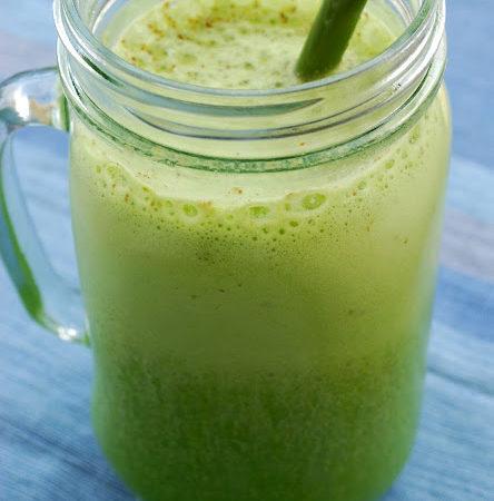Kale Flax Protein Smoothie