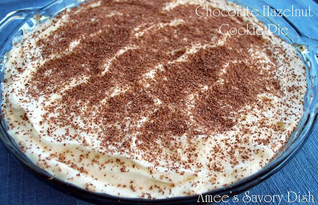 chocolate hazelnut cookie pie