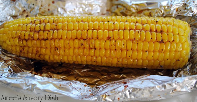 The best and easiest way to make grilled corn on the cob.