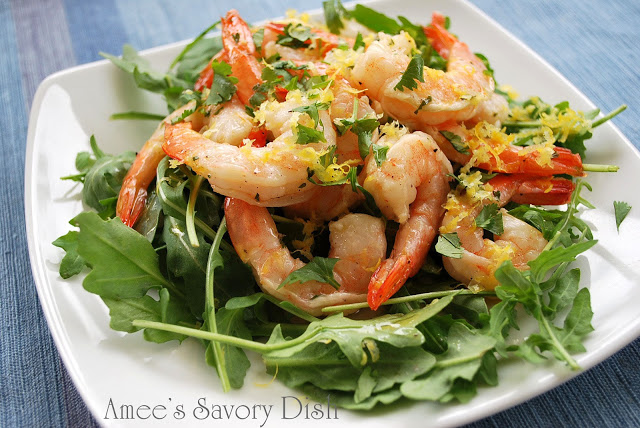 Chilled Marinated Shrimp recipe