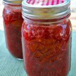 no sugar strawberry jam