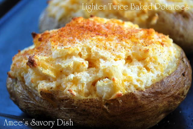 Lightened-Up Twice Baked Potatoes