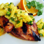 Island Grilled Chicken with Jalapeno Pineapple Salsa
