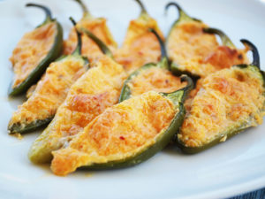 Easy cheese stuffed jalapeno peppers