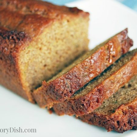 A super moist zucchini quick bread recipe made with chia flour