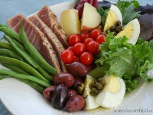Simple Tuna Nicoise Salad recipe