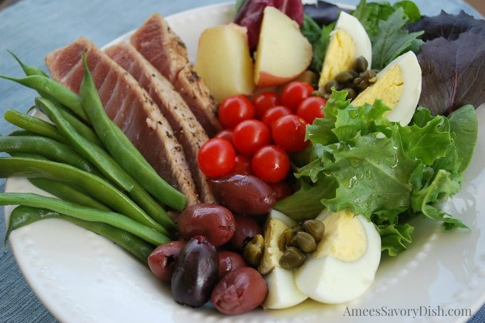 Simple Tuna Nicoise Salad