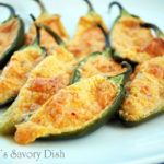 Spicy Cheese Stuffed Jalapeno Peppers