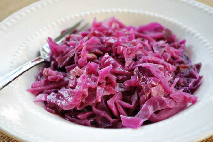Braised Red Cabbage Recipe