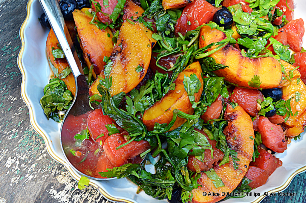 Cast Iron Skillet Grilled Fruit Salad-A Guest Post from Ally's Kitchen ...