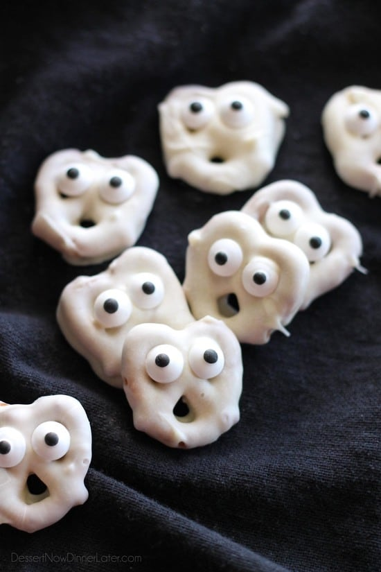 Screaming Ghost Pretzels