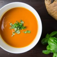 An easy tomato soup recipe for freezing