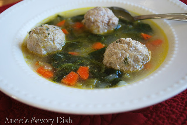 Paleo Meatball Soup….Delicious Comfort Food