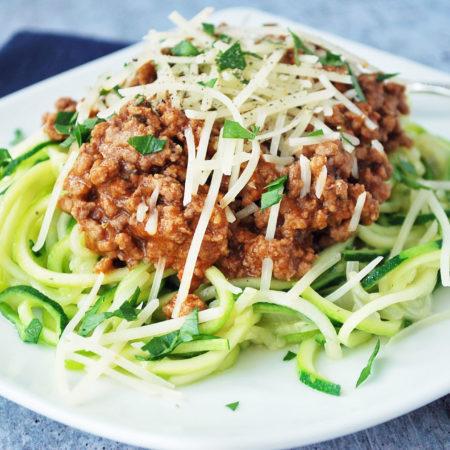 Zucchini Spaghetti 6