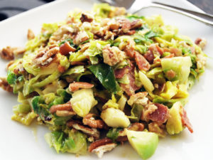 Paleo Brussels Sprouts Slaw