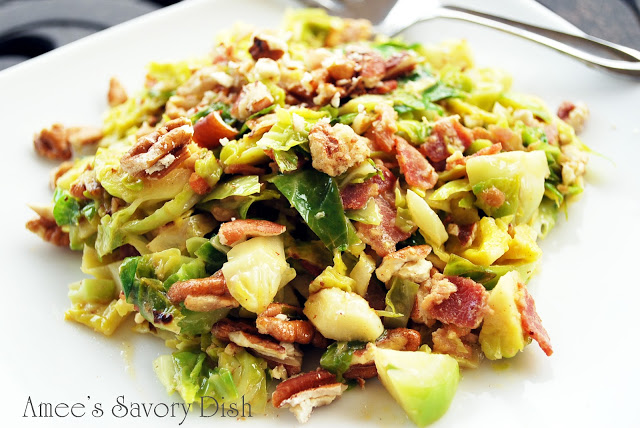 Brussels sprouts slaw is a delicious, healthy side dish, and a great way to enjoy eating Brussels sprouts. Even picky eaters love this slaw recipe!