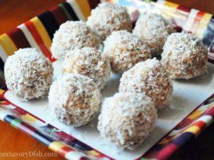 Coconut Almond Laraballs