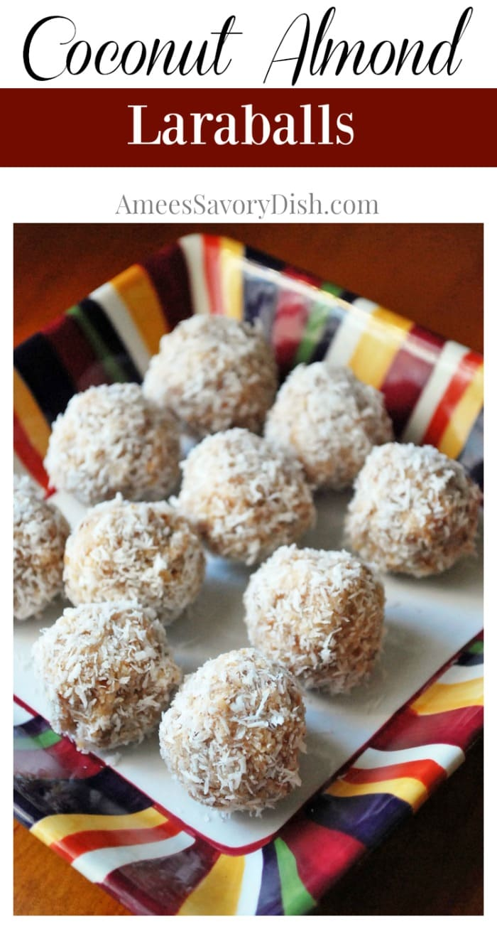 Coconut Almond Laraballs recipe