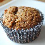 Grain Free Pumpkin Date Muffin