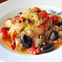 Greek chicken stew recipe