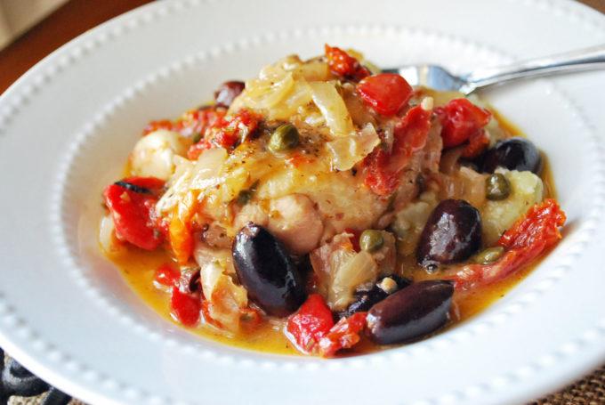 Delicious Greek chicken stew