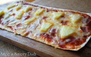 Grilled Hawaiian Flatbread Pizza
