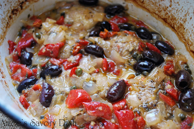 greek chicken stew