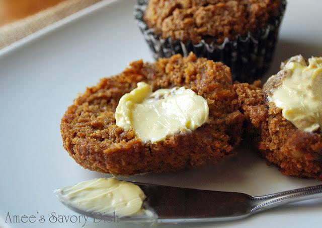 Grain Free Pumpkin Date Muffins recipe