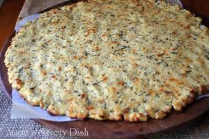 gluten-free cauliflower pizza crust