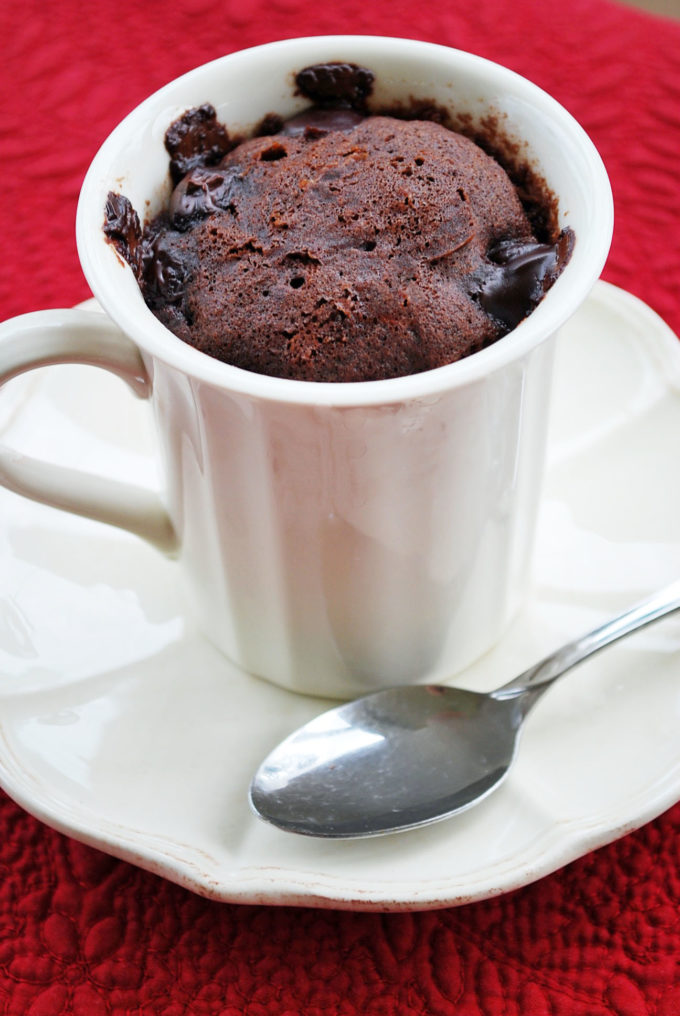 The Best Gluten-free mug cake recipe