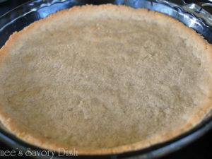 Grain-Free Coconut Almond Pie Crust