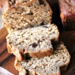 Wheat Free Dark Chocolate Chip Banana Bread