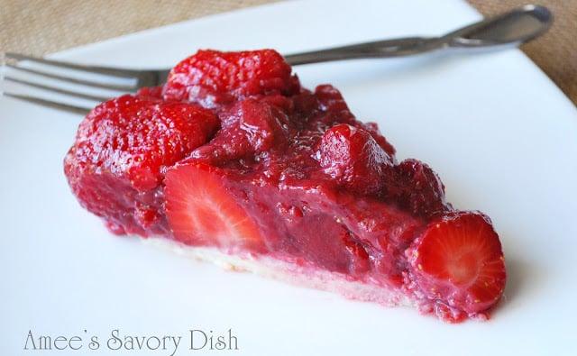 Fresh Strawberry Pie with Grain-Free Crust
