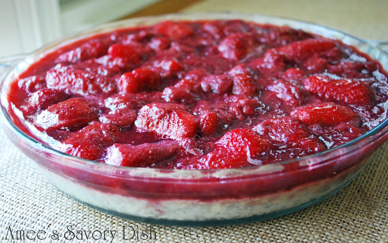 Fresh Strawberry Pie with Grain-Free Crust - Amee's Savory Dish