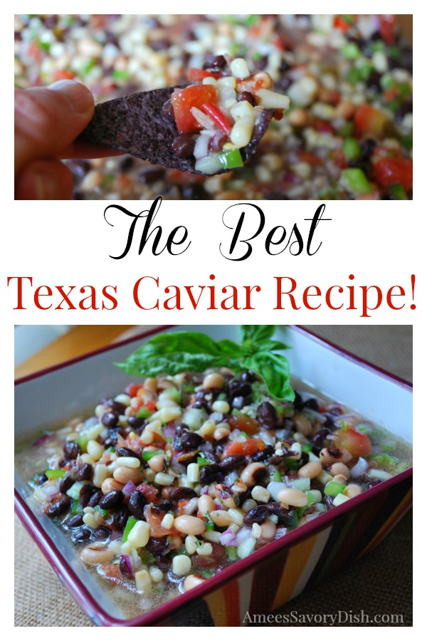 The Best #Texascaviar recipe