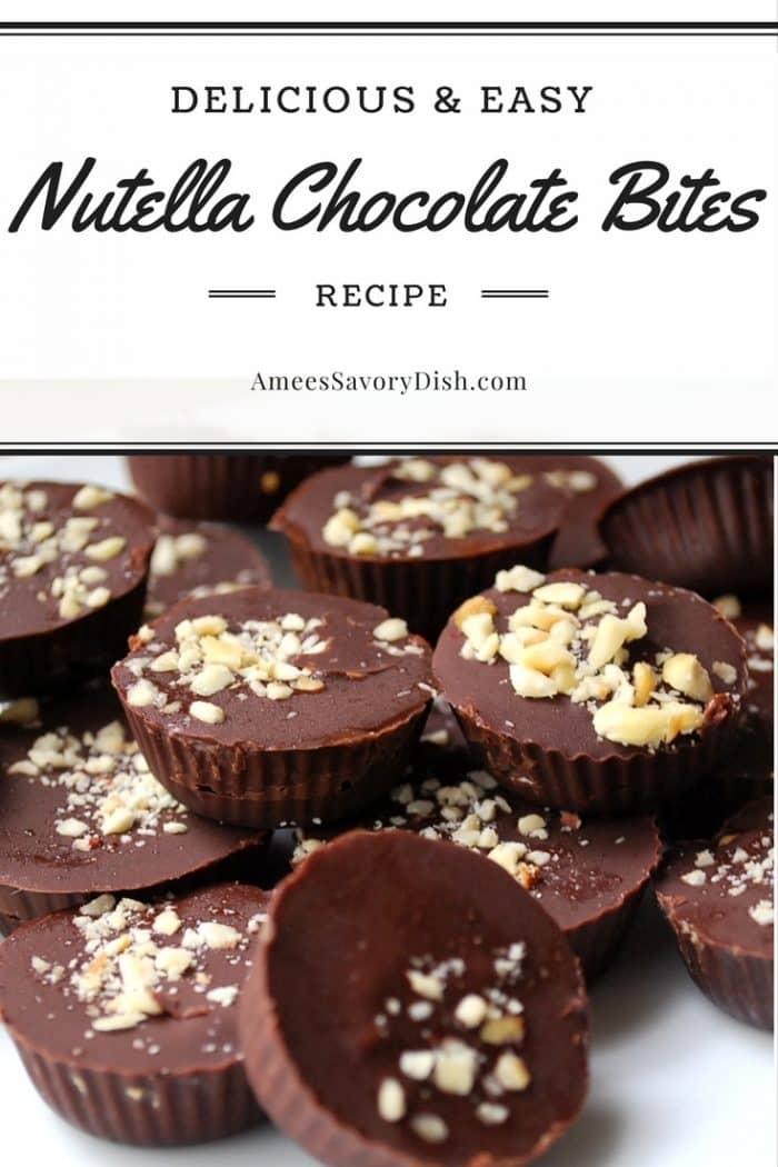 Nutella Chocolate Bites recipe