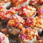 Italian Sausage & Sundried Tomato Stuffed Mushrooms