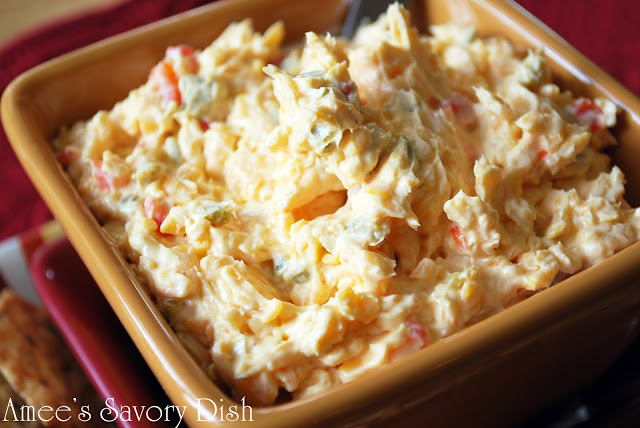 Southern Style Jalapeno Pimento Cheese