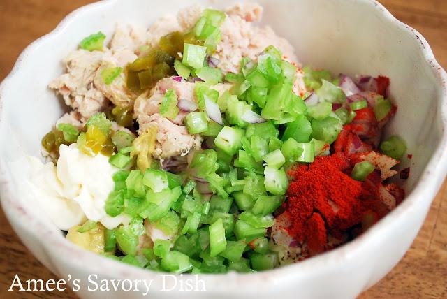 Paleo Tuna Salad in a bowl