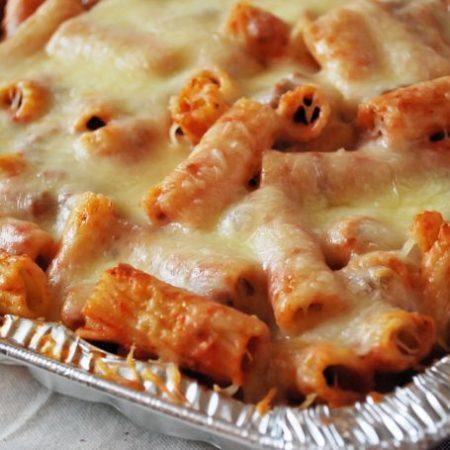 Baked Mostaccioli recipe