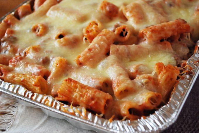 Baked Mostaccioli