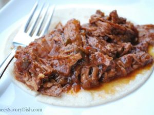 Crockpot Southwest Beef Roast recipe