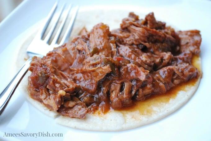 Crockpot Southwest Beef Roast recipe