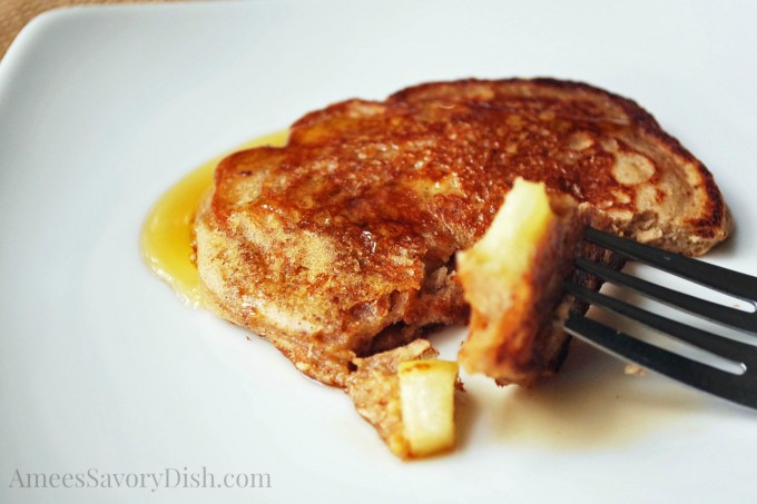 Apple Cinnamon Protein Pancake