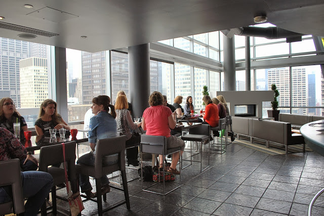 View from the dining area in the Wit Hotel