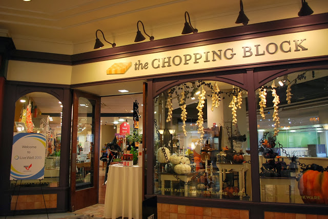 The Chopping Block cooking store and school; Chicago