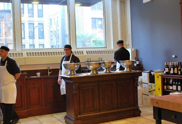 Chefs and sous chefs at The Chopping Block